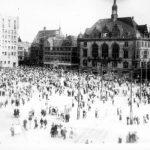 Halle, Markt (Foto: Archiv Verein Zeit-Geschichte(n), Nr. 38)