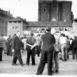 Halle, Hallmarkt (Foto: Archiv Verein Zeit-Geschichte(n), Nr. 42)