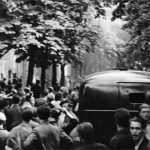 "Vor der Haftanstalt ""Roter Ochse""; Halle, Am Kirchtor (Foto: Albert Ammer)"